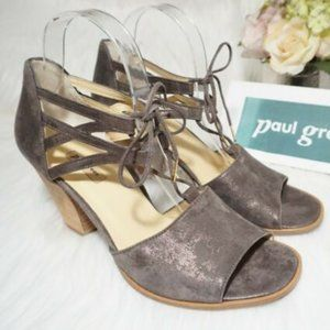 Paul Green Marsha Ghillie Heels WORN ONCE!